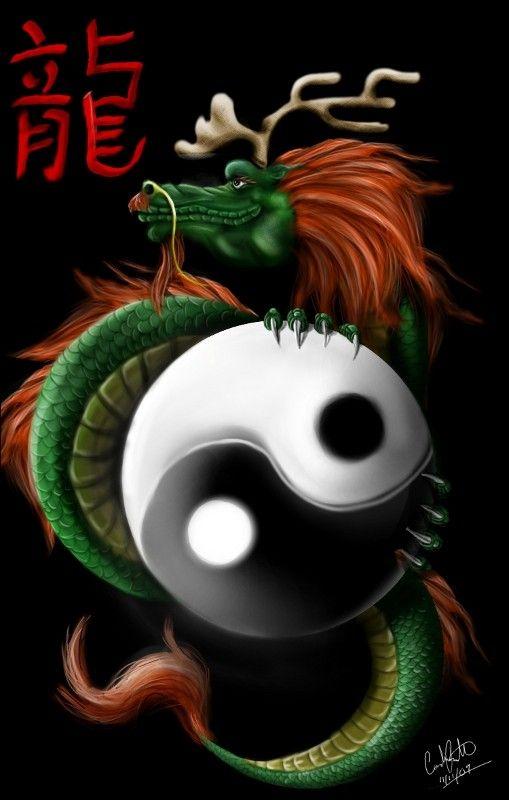 Darkimagimp dessin 2d avec gimp 2 6 page 13 - Dessin de dragon chinois ...